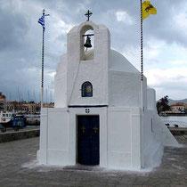 Nochmals die Nikolaos-Kapelle, weil sie so hübsch ist