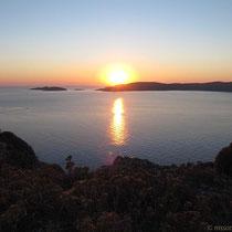 Der schönste Sonnenuntergang der Ägäis