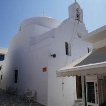 KIrche Agios Ioannis Theologos von außen ....