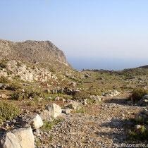 Karpathos: Auf dem Weg nach Vourgounda