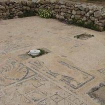 Frühchristliches Mosaik der Basilika Agia Anastasia