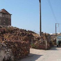 Mühle als Wachturm