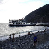 Kreta: Am Strand von Agia Roumeli