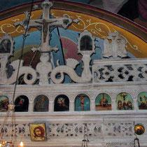 In der Kirche Agia Marina