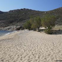 Psili Ammos heißt feiner Sand