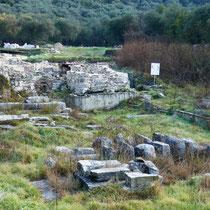 Überreste der byzantinischen Villa