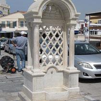 Marmorner Brunnen