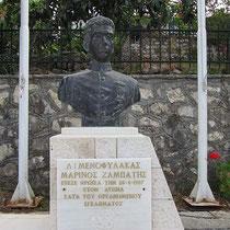 Denkmal an der Platia
