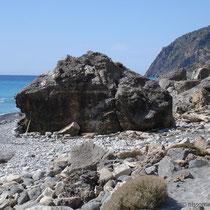 Kreta: Auf dem E 4 zwischen Agia Roumeli und Agios Pavlos
