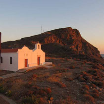 Die Doppelkapelle Agios Loukas und Agia Katerina