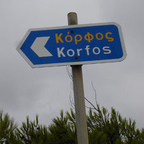 Gavdos: Nach Korfos