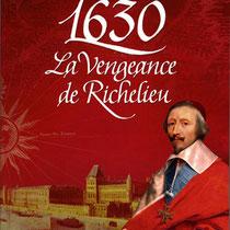 Calligraphie classique pour le titre d'une série de romans historiques chez Flammarion