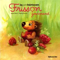"""Ecriture scolaire pour le titre et les pages intérieures, série """"Frisson"""", Lito"""