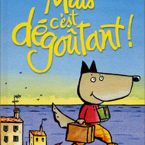 """Titrage au pinceau pour """"Mais c'est dégoûtant !"""", Sarbacane éditions"""