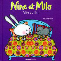 """Une """"typo"""" simple et dynamique pour la collection """"Nine et Milo"""" chez Mango jeunesse"""
