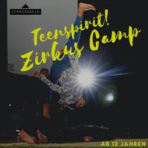 Zirkus Camp Dornbirn für Jugendliche