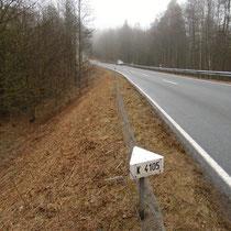 Kreisstrasse K4105, zwischen Schönbrunn und Schwanheim