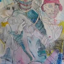 ST19 acrylique sur toile 110 x 80