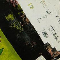Titel: Vogelscheiße, 54 x 36 cm, Mischtechnik, Pappe, 15 €