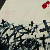 Titel: GrabMal, 43 x 31 cm, Gouachefarbe, Pappe, 10 €