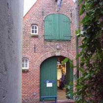 Die Werkstatt von Georg Stark im alten Kattrepel in Jever