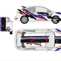 Entwurf und Plottdatei  Ford Focus für      Prestige Cover Waiblingen