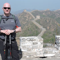 Barry on The Great Wall of China