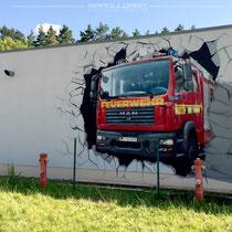 realistische Malerei aus der Dose Berlin Harz Bundeswehr Kaserne