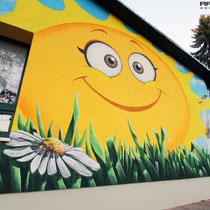 Style für Kinder gerechte 3d Bilder gemalt im Graffitistyle