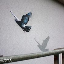 Illusionmalerei berlin Brandenburg mit graffitikünstler der Firma Appolloart Fassadengestaltung