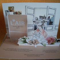 Carte Nina Ricci L'Air en 3 D
