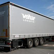 Fahrzeug für VEHAR Logistik