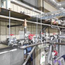 高圧配管路の敷設