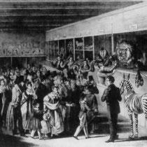 Menagerie des Hermann van Aken 1833