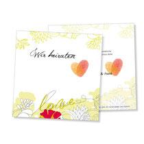 Einladung Hochzeitskarte