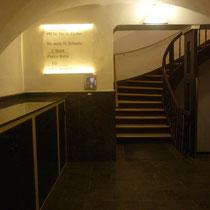 Eingangsbereich Watmarkt 9