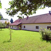 Garten im Ferienhaus Obermüller