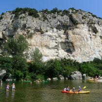 Amande - mit dem Kanu zum Pont du Gard