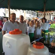 Obst- und Gartenbauverein: Obst- und Traubenmarkt Bad Sobernheim 2015