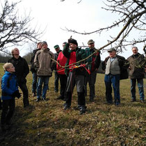 Obst- und Gartenbauverein: Baumschnittkurs 2015