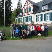 Obst- und Gartenbauverein: Waldbegehung 2015