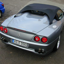 Barchetta 550 Kundenfahrzeug Erstmontage