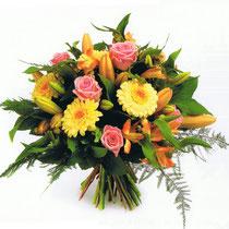 BRD3-Le Bouquet rond en poche d'eau