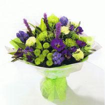 BRD2-Le Bouquet rond en poche d'eau