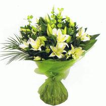 BRD5-Le Bouquet rond en poche d'eau
