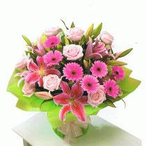 BRD1-Le Bouquet rond en poche d'eau