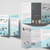 Printdesign Flyer und Illustration