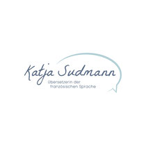 Logodesign und Konzept Katja Sudmann - Übersetzerin der französischen Sprache