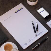 Corporate Design inkl. Briefbogen und Visitenkarte