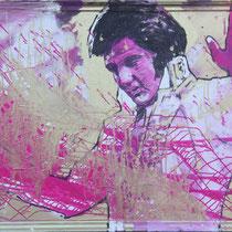 Elvis Presley - 150 cm x 100 cm , Acryl